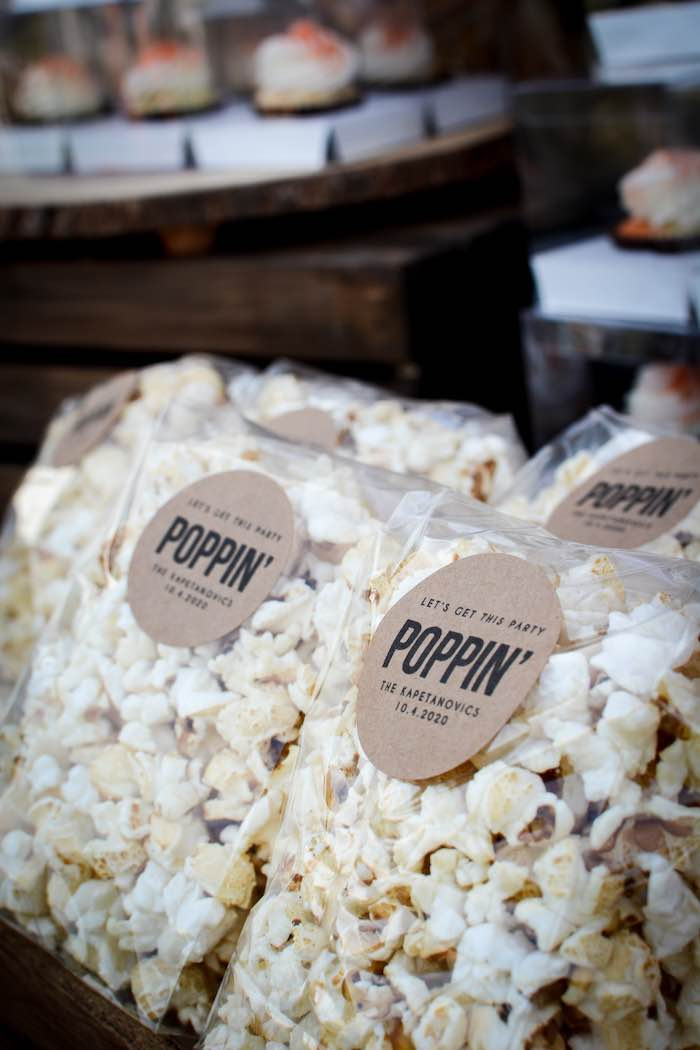 Popcorn Bags from a Backyard Fall Festival Party on Kara's Party Ideas | KarasPartyIdeas.com (10)