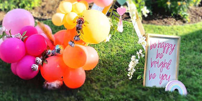 Boho Rainbow Art Party on Kara's Party Ideas | KarasPartyIdeas.com (2)