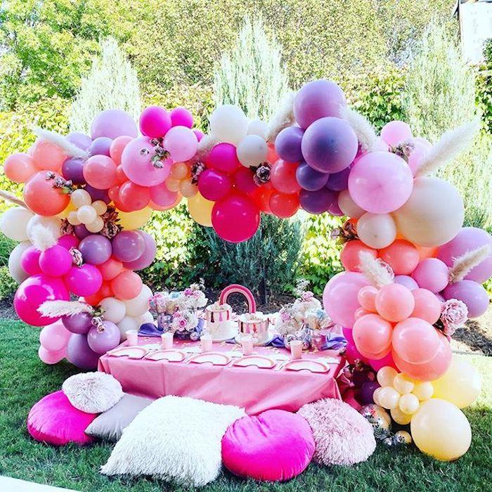 Boho Rainbow Art Party on Kara's Party Ideas | KarasPartyIdeas.com (9)