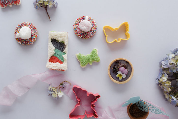 Sweets from a Butterfly Tea and Crafting Party on Kara's Party Ideas | KarasPartyIdeas.com (22)
