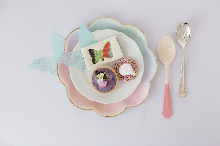 Sweets from a Butterfly Tea and Crafting Party on Kara's Party Ideas | KarasPartyIdeas.com (16)