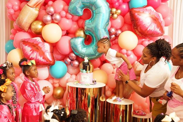 Spa Themed Dessert Spread from a Diva Spa Party on Kara's Party Ideas | KarasPartyIdeas.com (8)