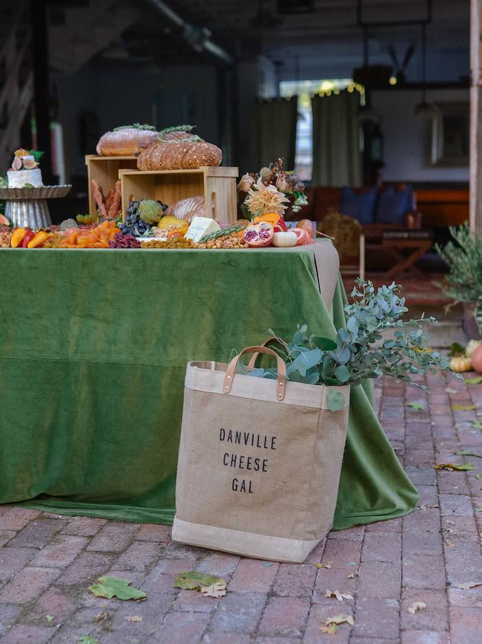 Grazing Table from a Fall Farmhouse Thanksgiving Celebration on Kara's Party Ideas | KarasPartyIdeas.com (20)