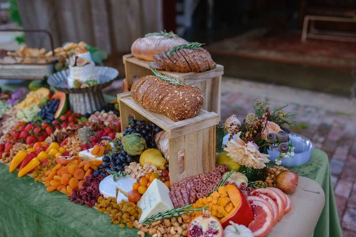 Grazing Table from a Fall Farmhouse Thanksgiving Celebration on Kara's Party Ideas | KarasPartyIdeas.com (19)