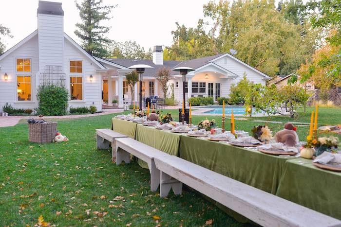Fall Farmhouse Thanksgiving Celebration on Kara's Party Ideas | KarasPartyIdeas.com (5)