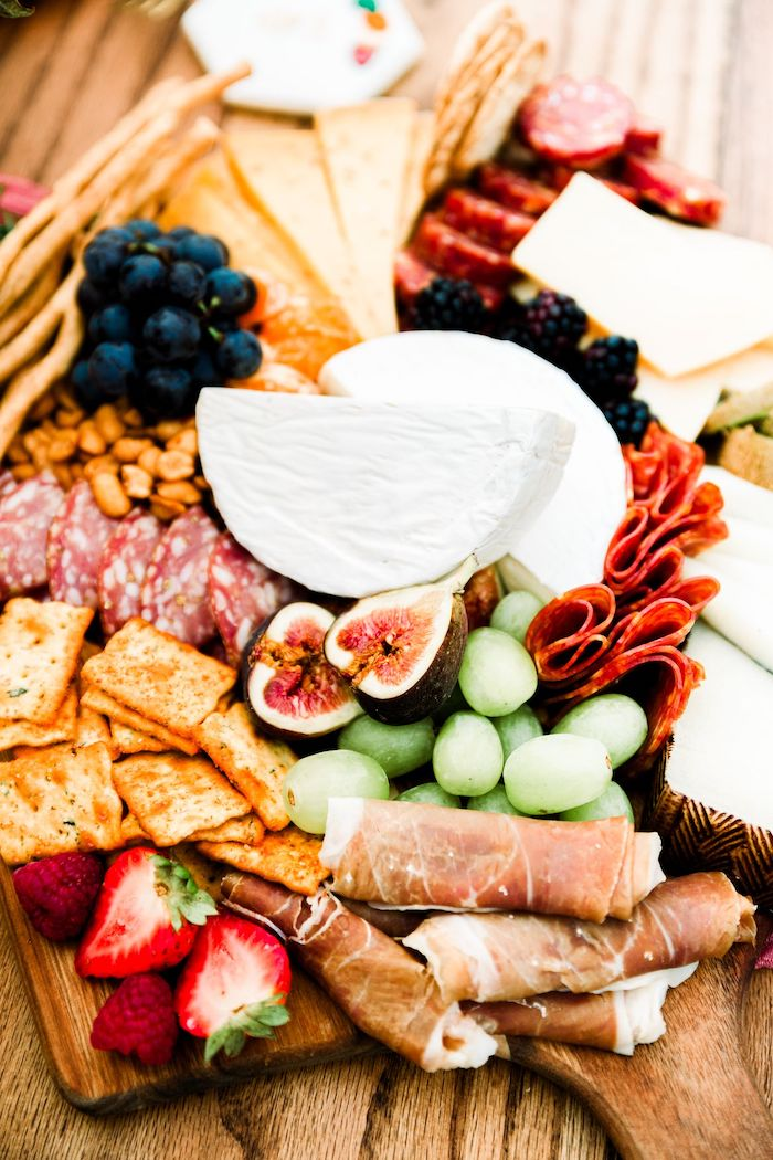 Charcuterie Board from a Fall Friendsgiving on Kara's Party Ideas | KarasPartyIdeas.com (16)