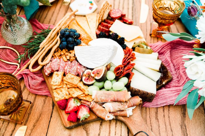 Charcuterie Board from a Fall Friendsgiving on Kara's Party Ideas | KarasPartyIdeas.com (8)