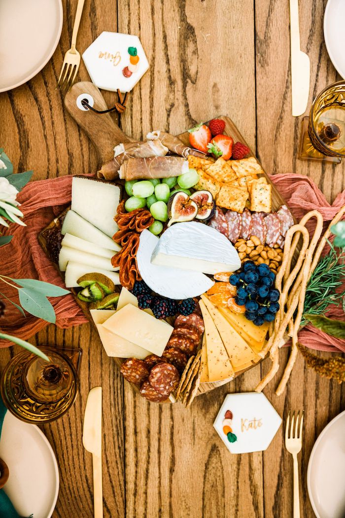 Charcuterie Board from a Fall Friendsgiving on Kara's Party Ideas | KarasPartyIdeas.com (20)