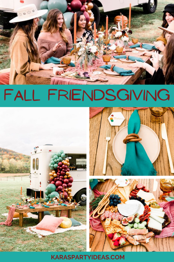 Fall Friendsgiving via Kara's Party Ideas - KarasPartyIdeas.com