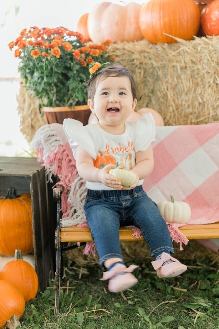 Little Pumpkin Birthday Party on Kara's Party Ideas | KarasPartyIdeas.com (5)