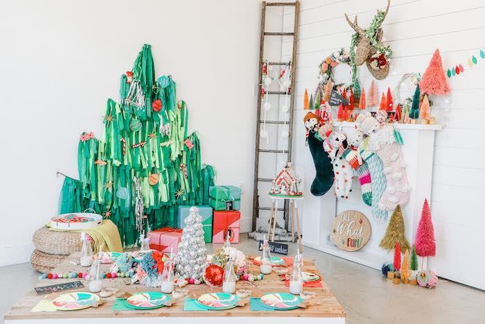 Merry + Bright Christmas Party on Kara's Party Ideas | KarasPartyIdeas.com (14)