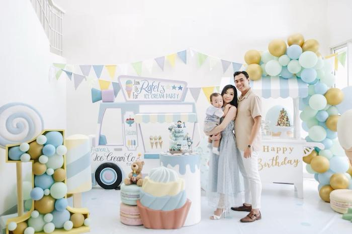Pastel Ice Cream Birthday Party on Kara's Party Ideas | KarasPartyIdeas.com (3)