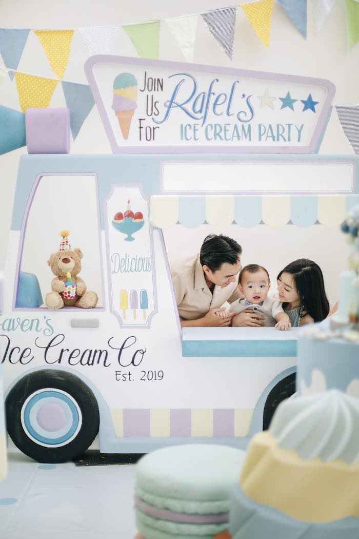 Pastel Ice Cream Birthday Party on Kara's Party Ideas | KarasPartyIdeas.com (15)