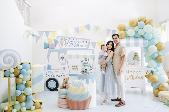 Pastel Ice Cream Birthday Party on Kara's Party Ideas | KarasPartyIdeas.com (14)