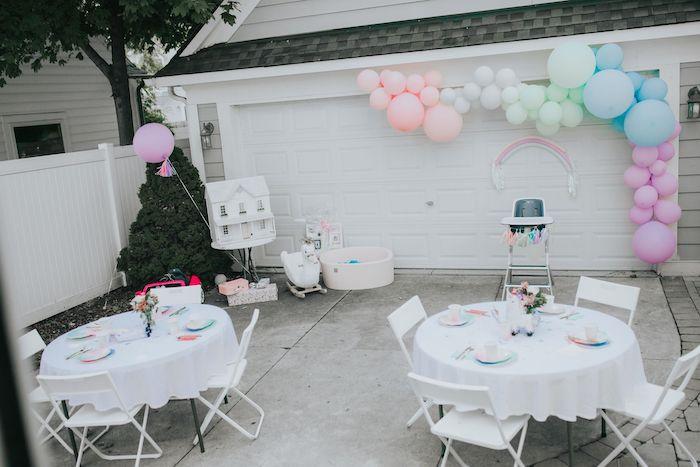 Pastel Unicorn 1st Birthday Party on Kara's Party Ideas | KarasPartyIdeas.com (12)