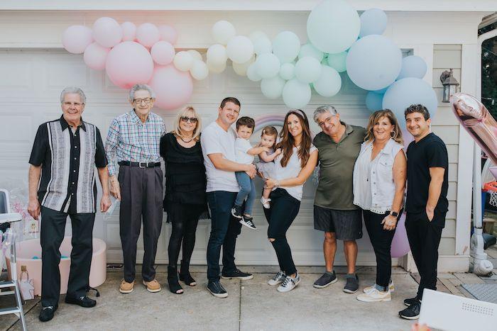 Pastel Unicorn 1st Birthday Party on Kara's Party Ideas | KarasPartyIdeas.com (11)