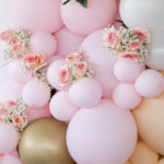 Peach & Gold Baptism Party on Kara's Party Ideas | KarasPartyIdeas.com (2)