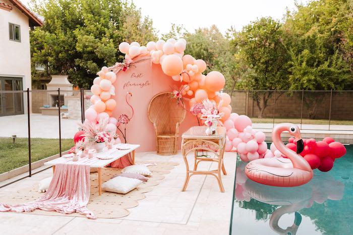 Pink Flamingle Party on Kara's Party Ideas | KarasPartyIdeas.com (29)