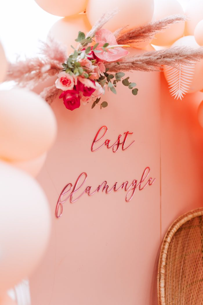 Last Flamingle Signage from a Pink Flamingle Party on Kara's Party Ideas | KarasPartyIdeas.com (21)