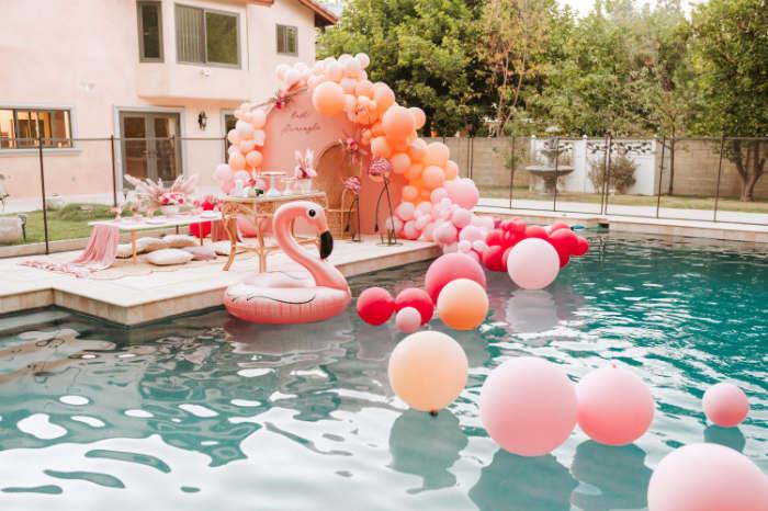 Pink Flamingle Party on Kara's Party Ideas | KarasPartyIdeas.com (19)
