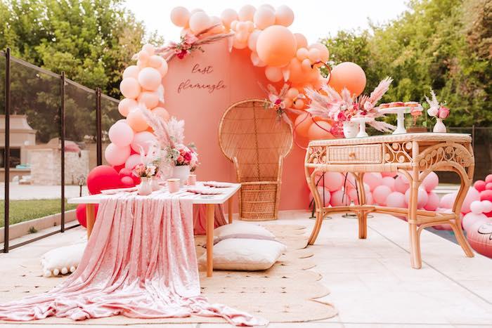 Pink Flamingle Party on Kara's Party Ideas | KarasPartyIdeas.com (14)