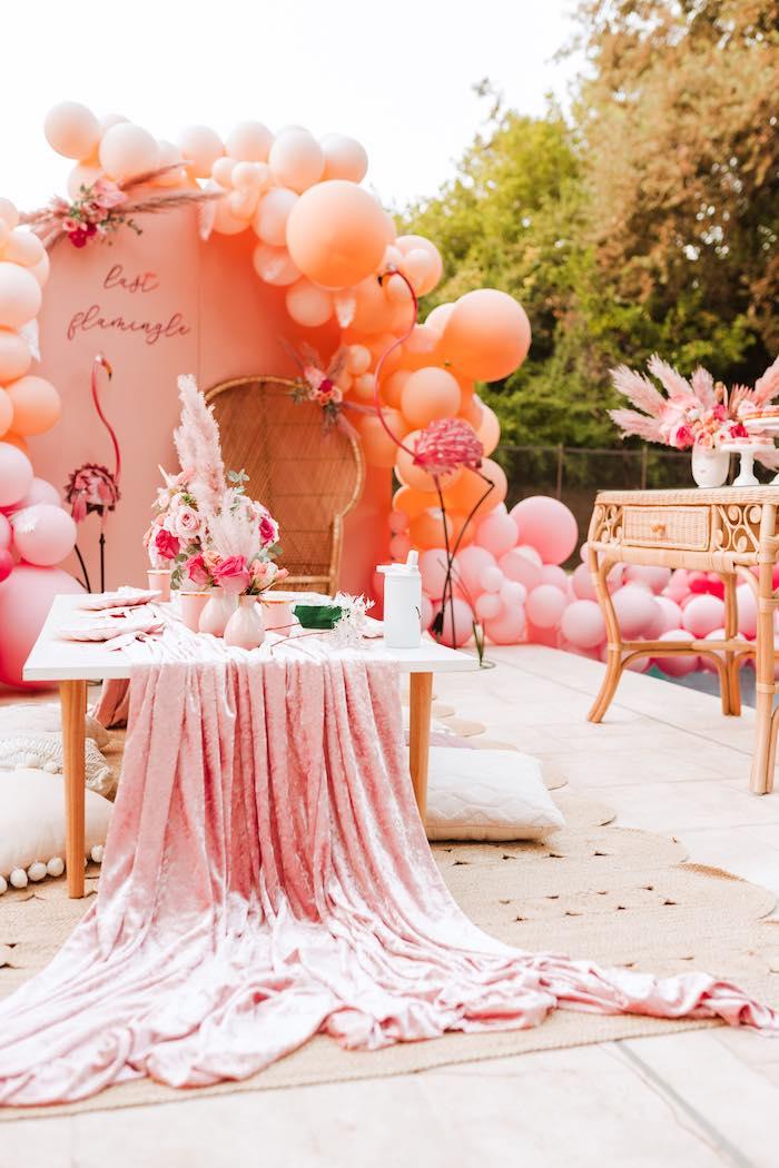 Pink Flamingle Party on Kara's Party Ideas | KarasPartyIdeas.com (8)