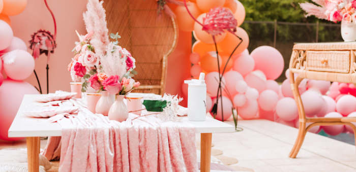 Pink Flamingle Party on Kara's Party Ideas | KarasPartyIdeas.com (2)