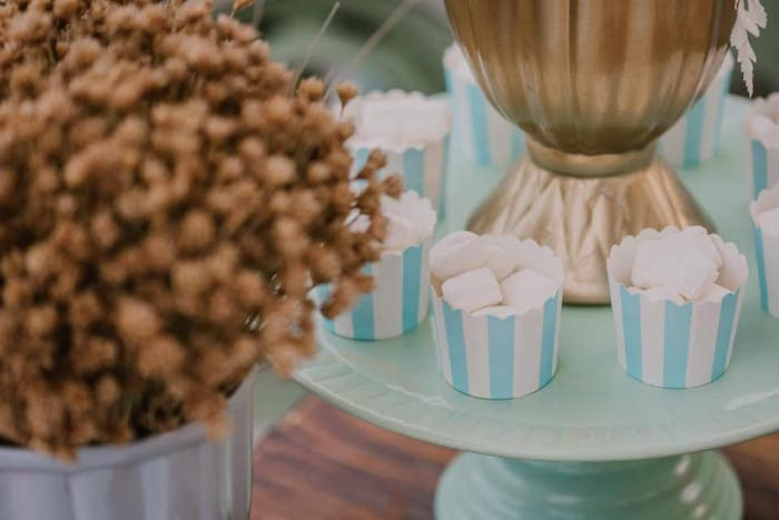 Butter Mint Cups from a Vintage Boho VW Beetle Party on Kara's Party Ideas | KarasPartyIdeas.com (22)