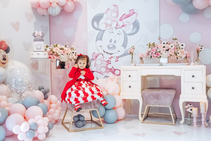 Vintage Pastel Minnie Mouse Party on Kara's Party Ideas | KarasPartyIdeas.com (5)
