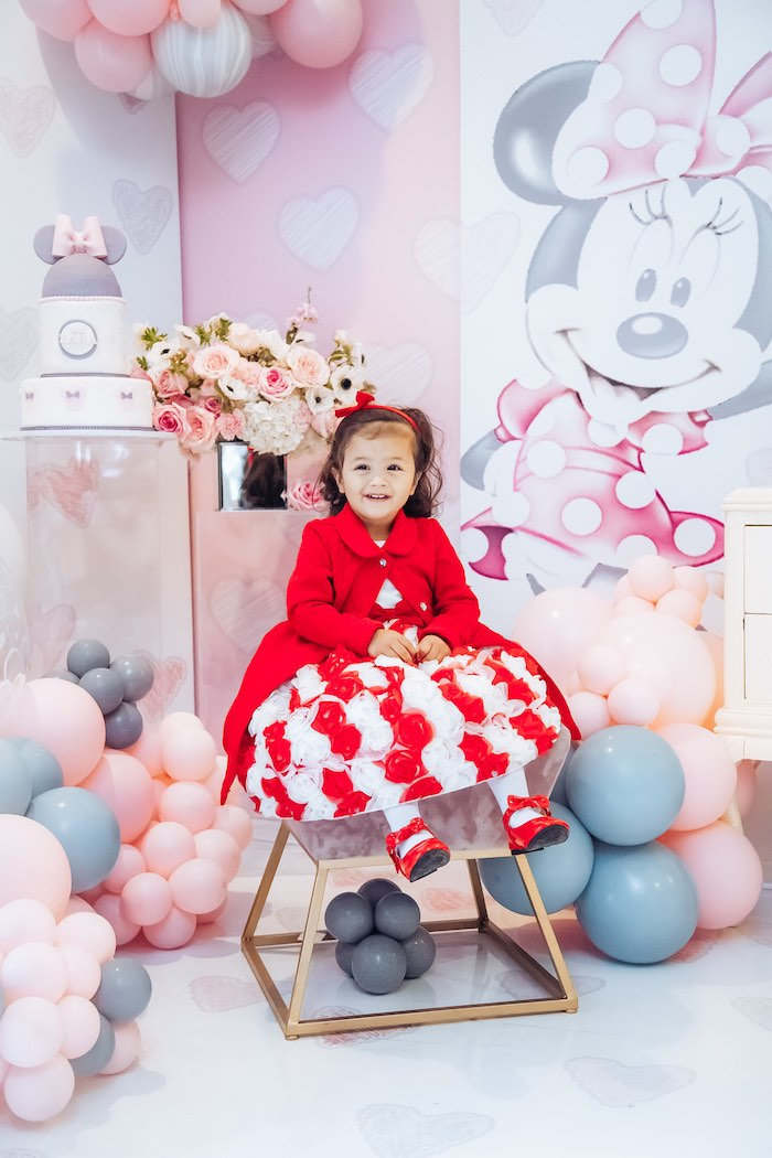 Vintage Pastel Minnie Mouse Party on Kara's Party Ideas | KarasPartyIdeas.com (4)