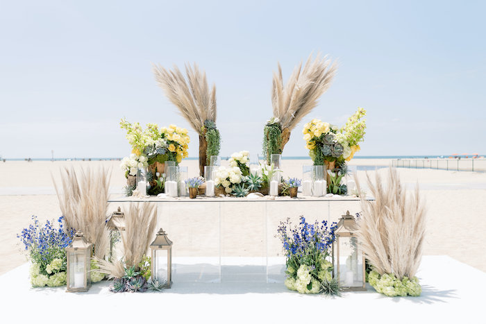 """Day at the Beach"" Inspired Bar Mitzvah on Kara's Party Ideas 