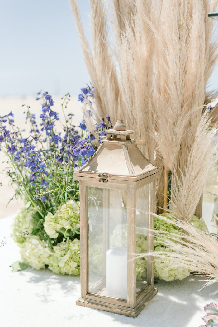 "Lantern Decoration from a ""Day at the Beach"" Inspired Bar Mitzvah on Kara's Party Ideas 