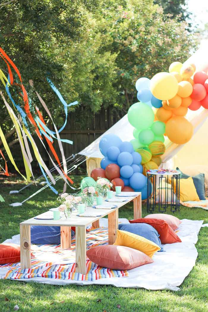 """TWO Groovy"" 2nd Birthday Party on Kara's Party Ideas 
