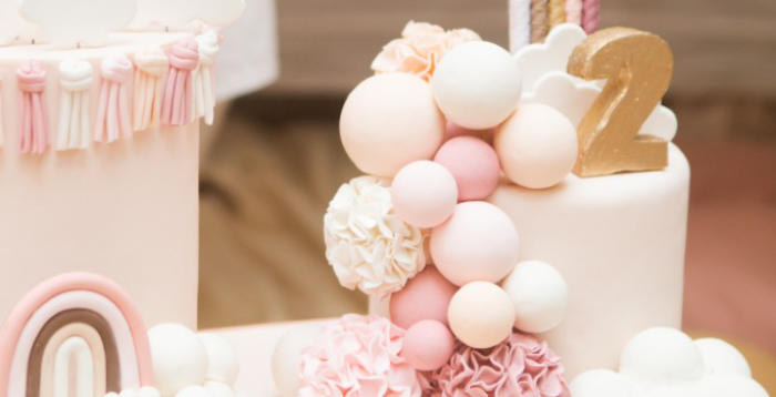 Boho Rainbow Birthday Party on Kara's Party Ideas | KarasPartyIdeas.com (4)