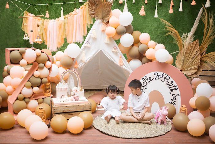 Boho Rainbow Birthday Party on Kara's Party Ideas | KarasPartyIdeas.com (11)