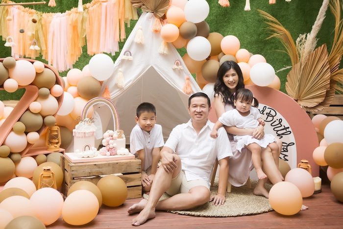 Boho Rainbow Birthday Party on Kara's Party Ideas | KarasPartyIdeas.com (9)