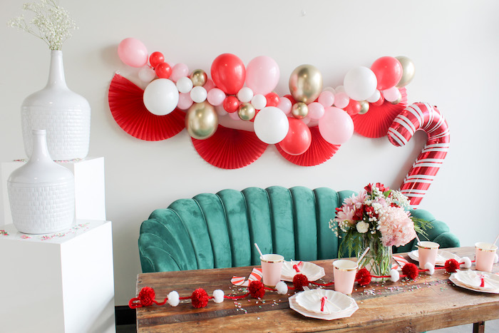 Candy Cane Soiree on Kara's Party Ideas | KarasPartyIdeas.com (5)