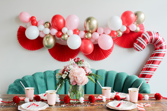 Candy Cane Soiree on Kara's Party Ideas | KarasPartyIdeas.com (10)