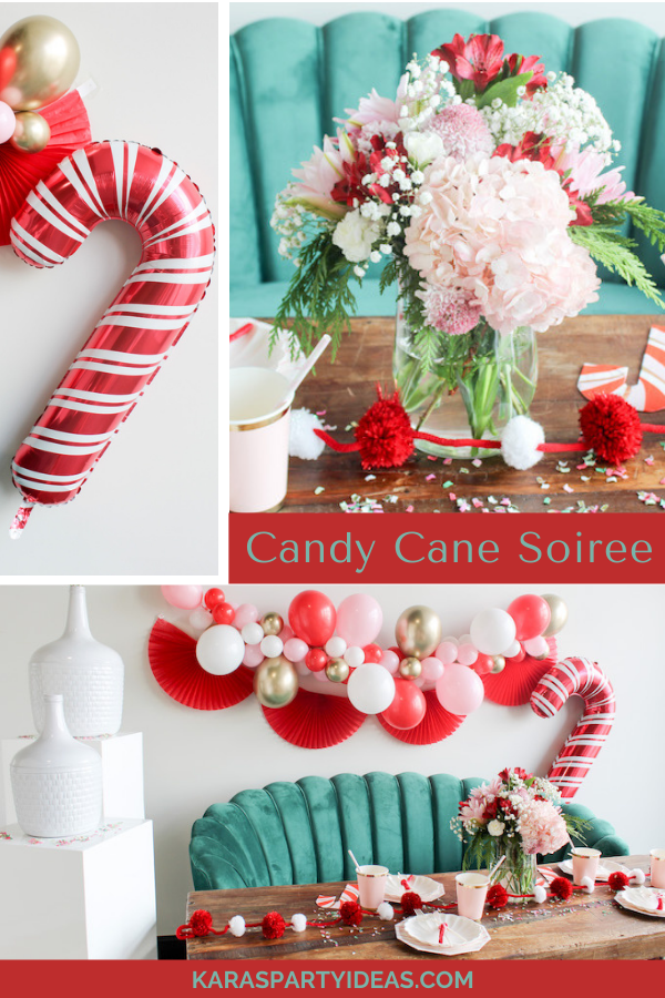 Candy Cane Soiree via Kara's Party Ideas - KarasPartyIdeas.com
