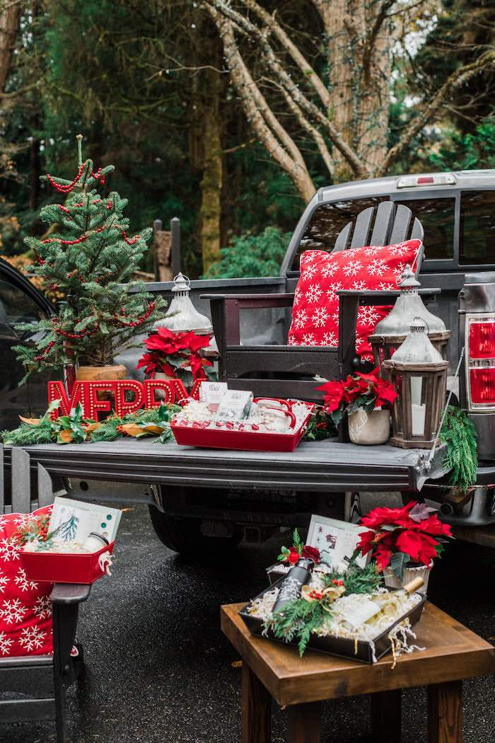 Classic Christmas Tailgate Party on Kara's Party Ideas | KarasPartyIdeas.com (17)