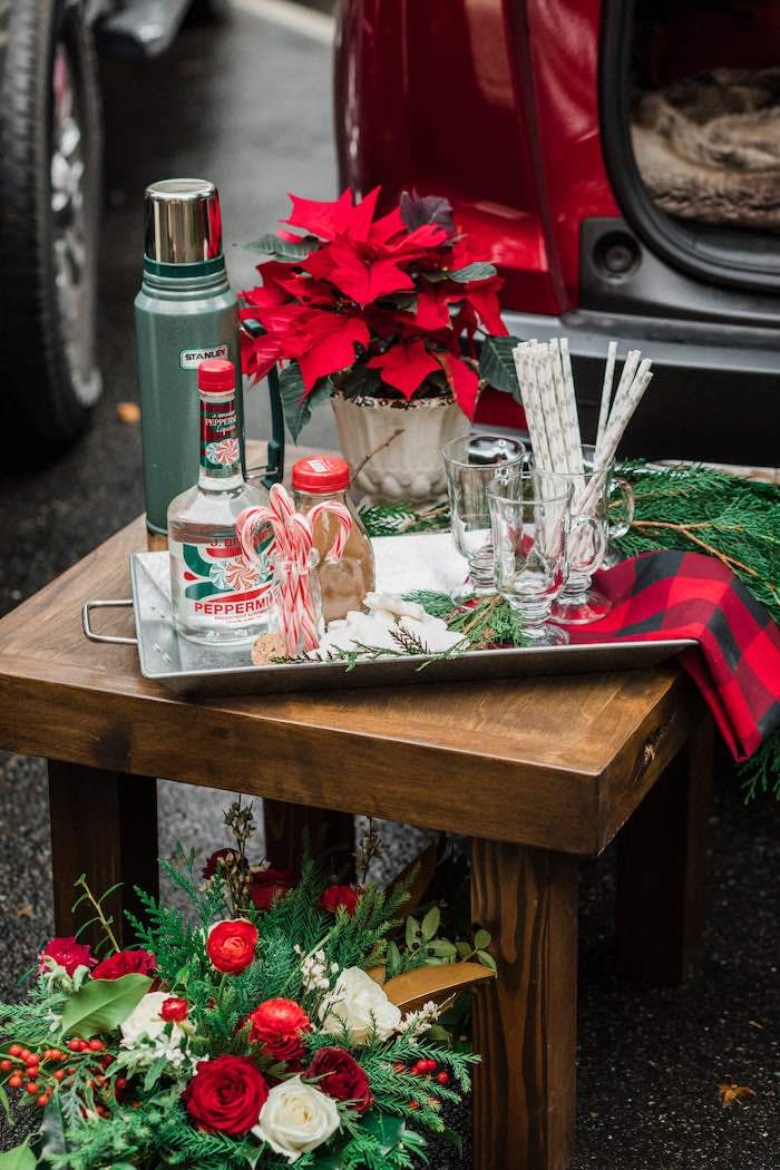 Classic Christmas Tailgate Party on Kara's Party Ideas | KarasPartyIdeas.com (13)