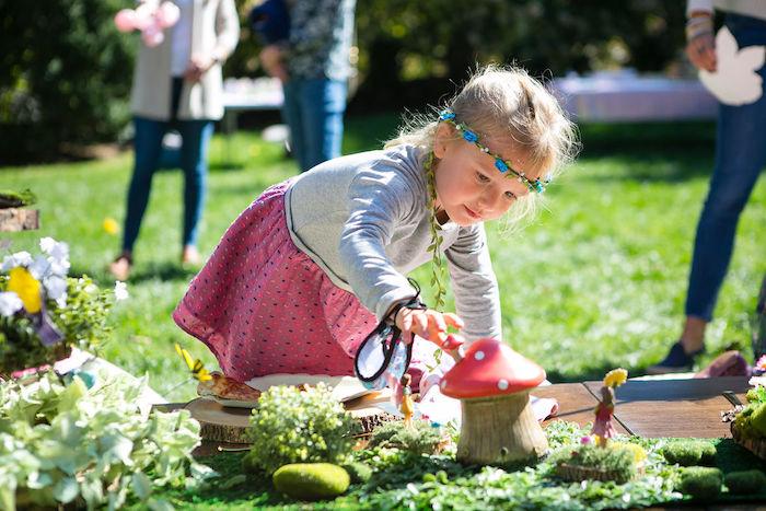 Enchanted Fairy Garden Birthday Party on Kara's Party Ideas | KarasPartyIdeas.com (30)