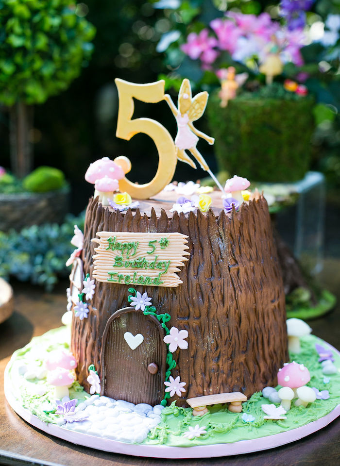 Fairy Flower Cake Pops from an Enchanted Fairy Garden Birthday Party on Kara's Party Ideas | KarasPartyIdeas.com (23)