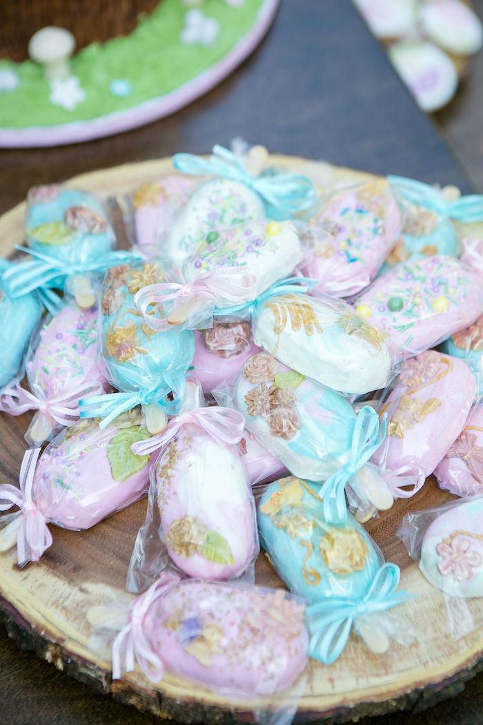 Fairy-inspired Cakesicles from an Enchanted Fairy Garden Birthday Party on Kara's Party Ideas | KarasPartyIdeas.com (15)