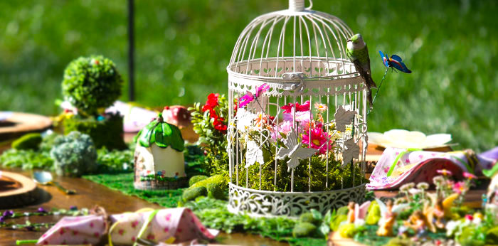 Enchanted Fairy Garden Birthday Party on Kara's Party Ideas | KarasPartyIdeas.com (2)