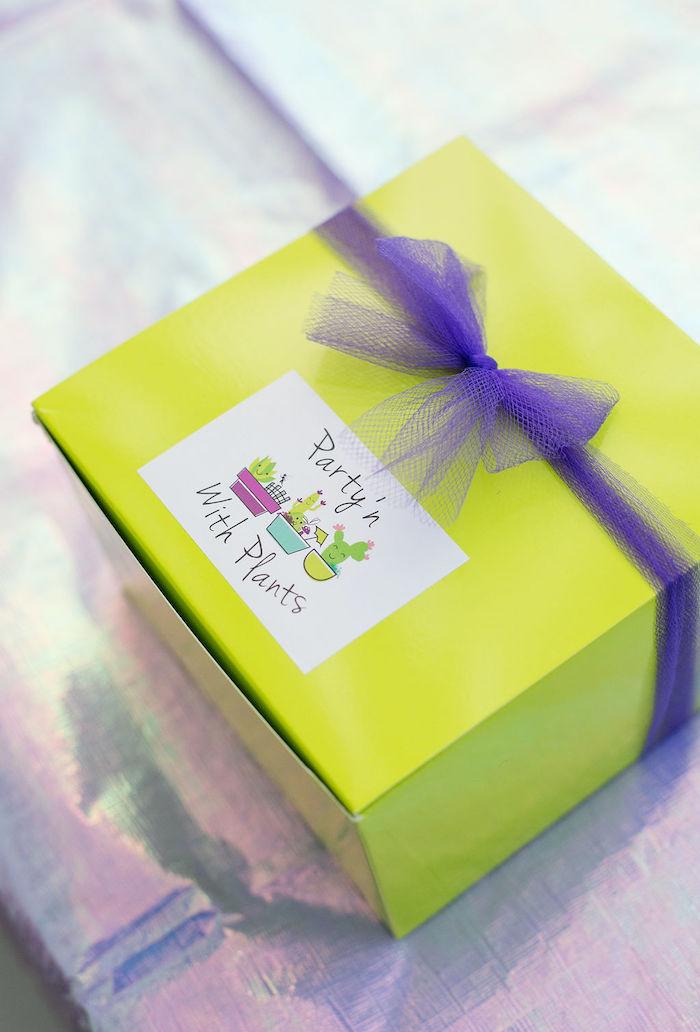 Fairy Garden Craft Box an Enchanted Fairy Garden Birthday Party on Kara's Party Ideas | KarasPartyIdeas.com (38)