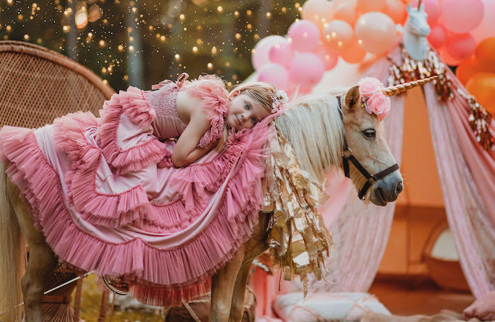 Glam Boho Unicorn Party on Kara's Party Ideas | KarasPartyIdeas.com (3)