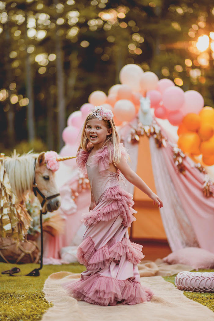Glam Boho Unicorn Party on Kara's Party Ideas | KarasPartyIdeas.com (15)