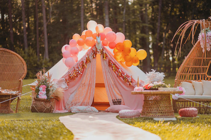 Glam Boho Unicorn Party on Kara's Party Ideas | KarasPartyIdeas.com (12)
