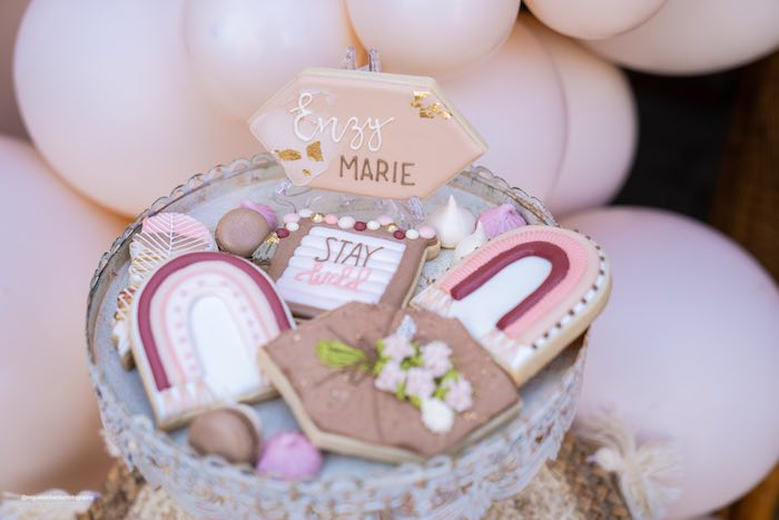Muted Boho Princess Party on Kara's Party Ideas | KarasPartyIdeas.com (15)
